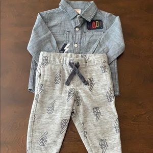 Gymboree Two Piece Long Sleeve Outfit